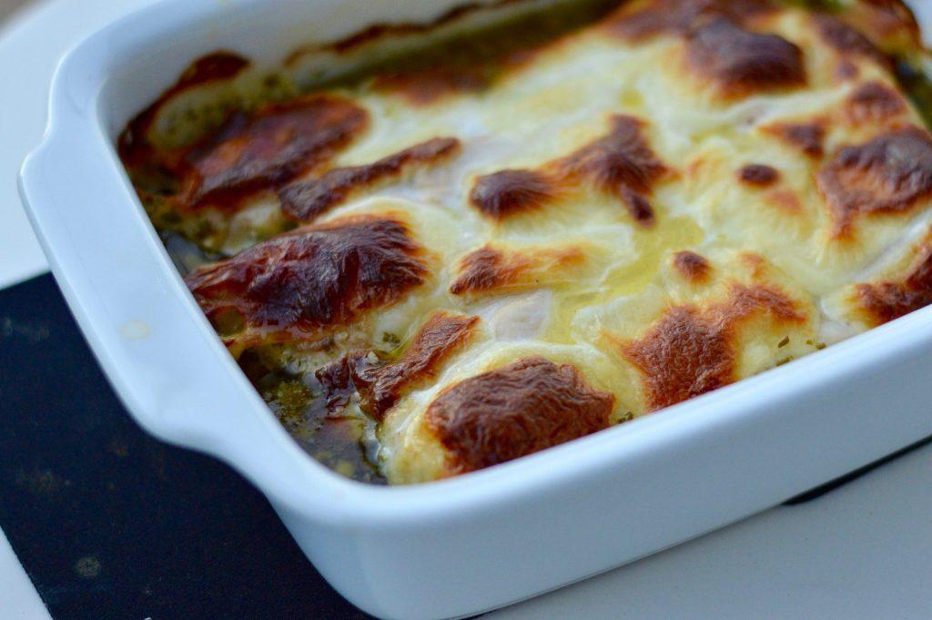 Creamy Pesto Chicken Dish and Recipe
