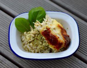 Pesto Chicken | Easy mid-week creamy pesto chicken recipe
