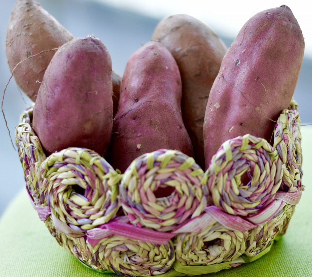 Sweet Potato Picking for The Black Bean and Sweet Potato Dish