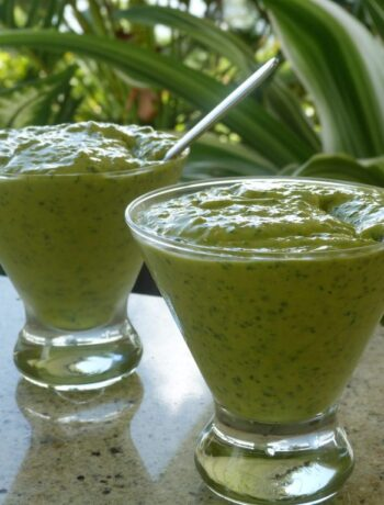 Green Smoothie with Kale
