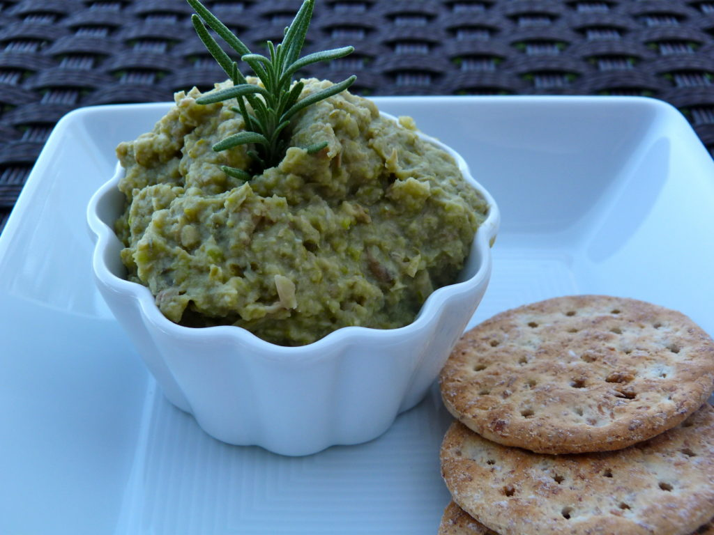 Cooking with Pigeon Peas: Pigeon pea tapenade