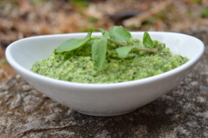 Water cress pesto
