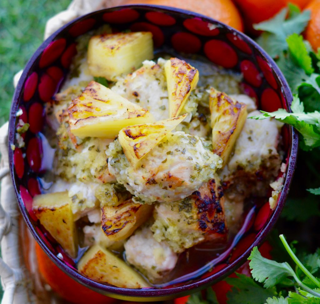 Pineapple Chicken Dish