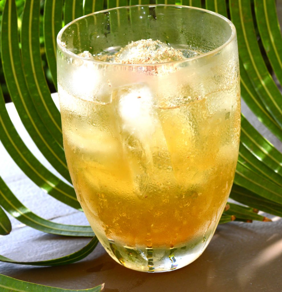 Traditional West Indian rum punch