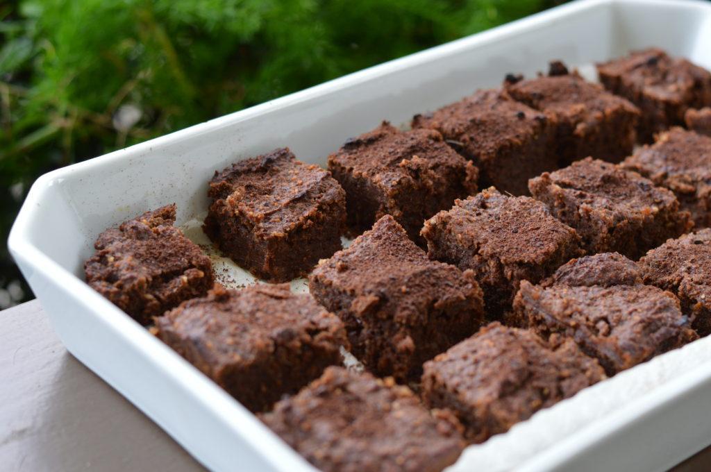 Gluten Free Brownies: Pumpkin and Ginger