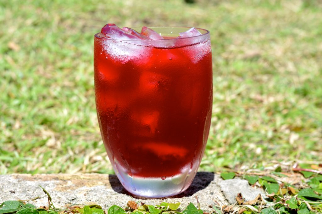 Christmas sorrel drink