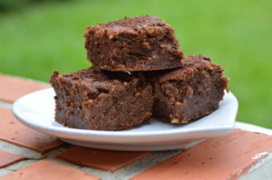 Gluten Free Brownies: Pumpkin and Ginger