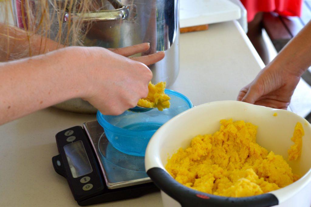 Making Trinidad pastelles