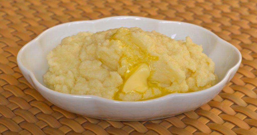 Puréed cauliflower