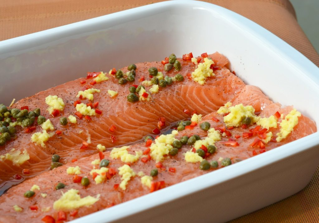 Salmon and Ginger - A healthy dinner solution