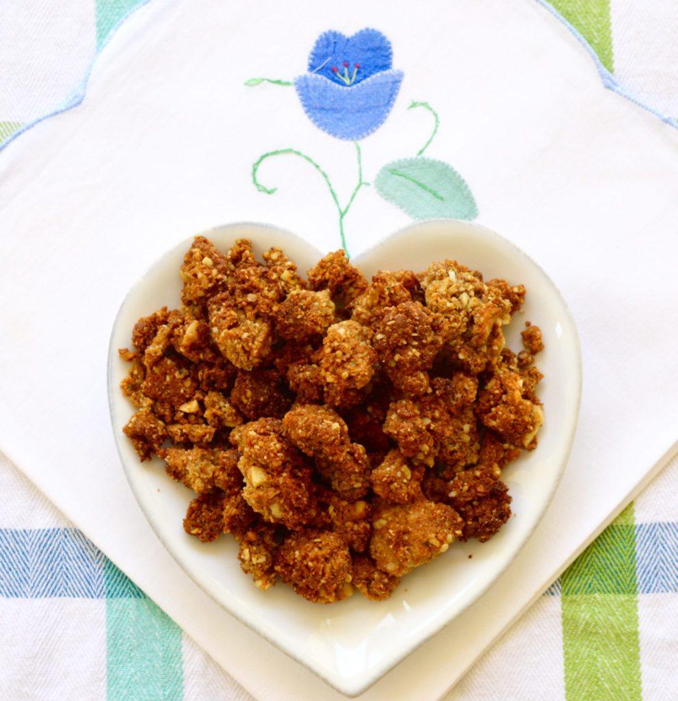 A Paleo granola breakfast dish