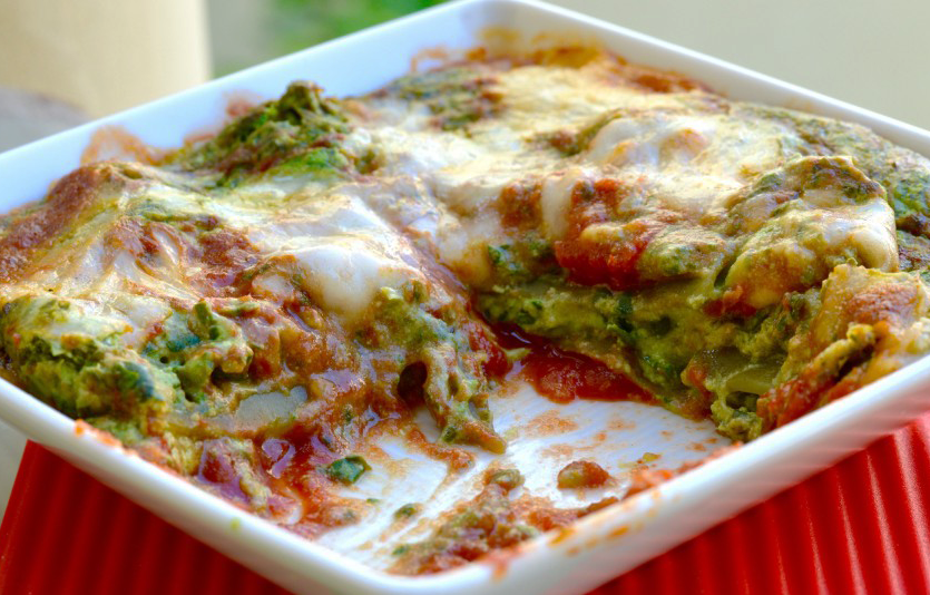 October, World #VegetarianDay and Lasagne