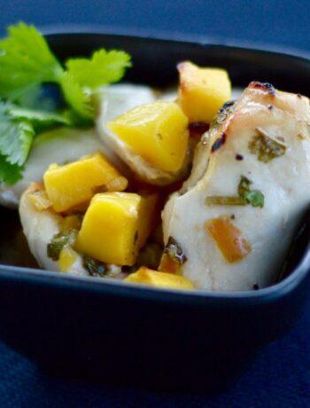Mango Chicken Recipe - Sun Temple Food Photo
