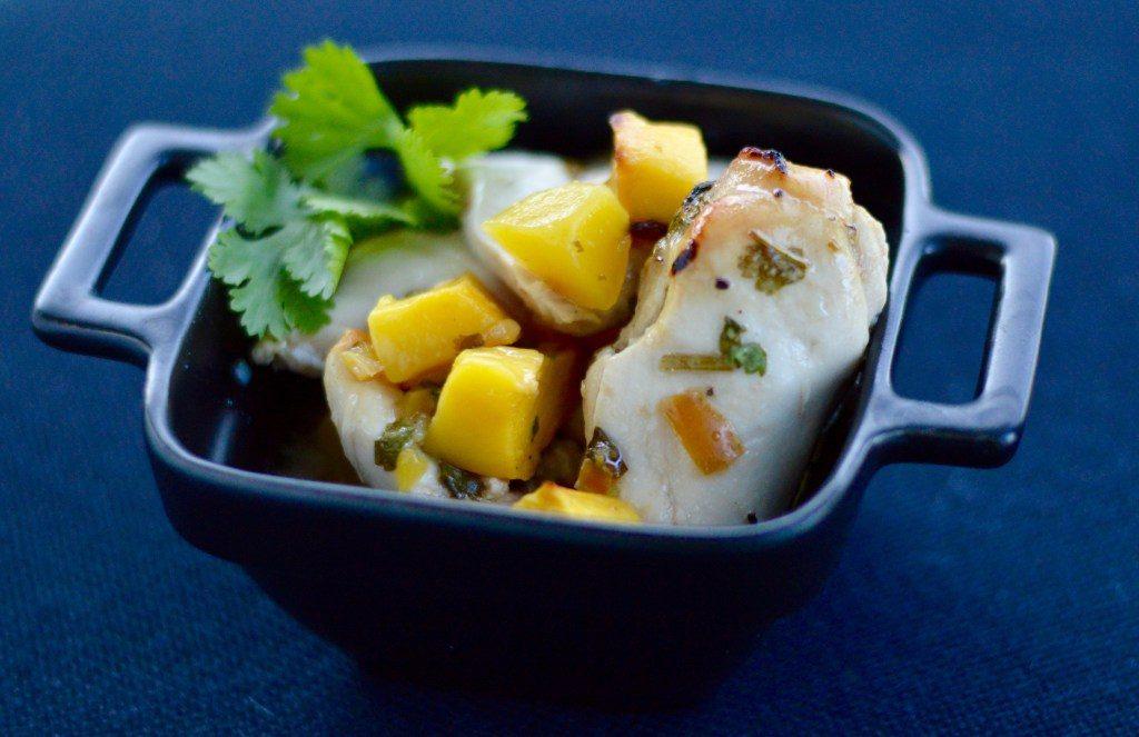 Mango Chicken - The Gestational Diabetes Diet