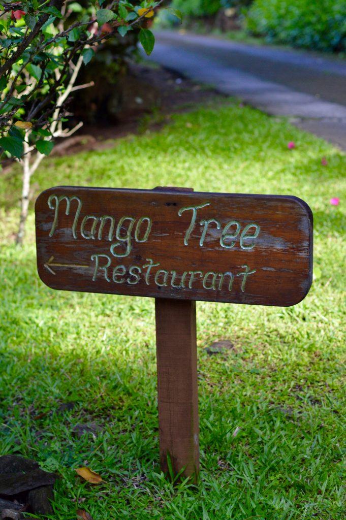 The Mango Tree Restaurant at Stonefield Estate