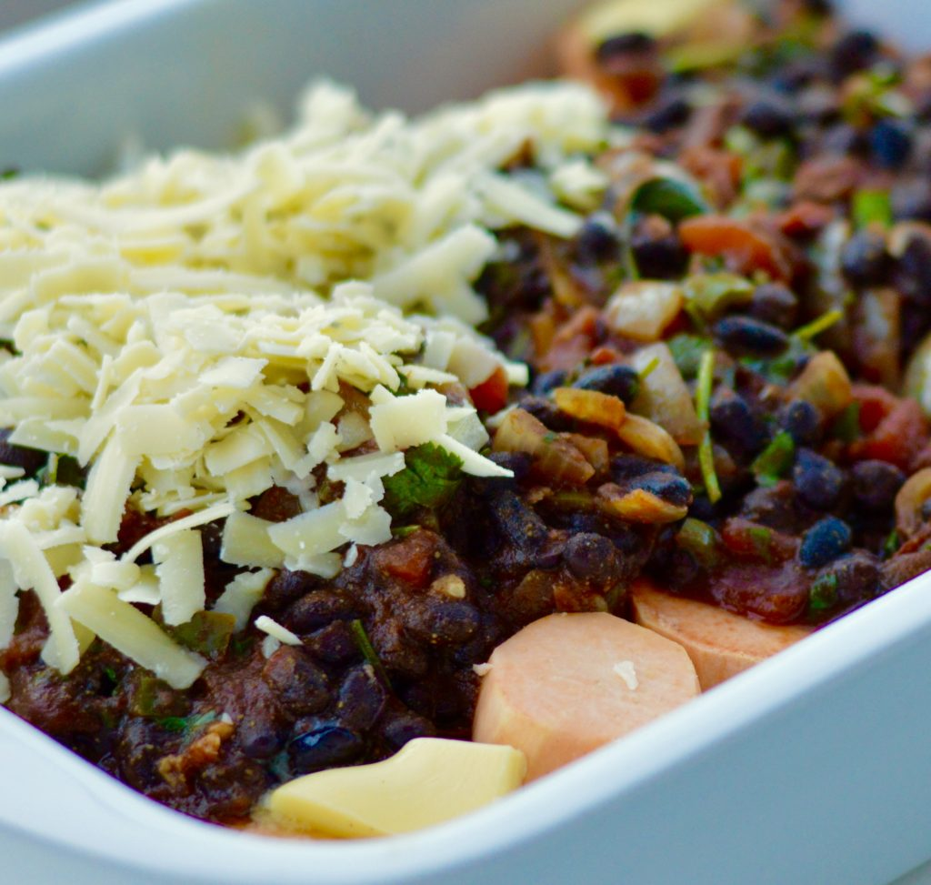 Black Bean and Sweet Potato Dish