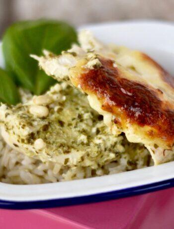 Creamy Pesto Chicken Recipe image