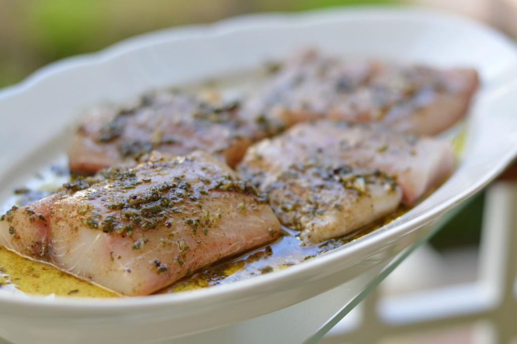 Fish Dish - Mahi Mahi