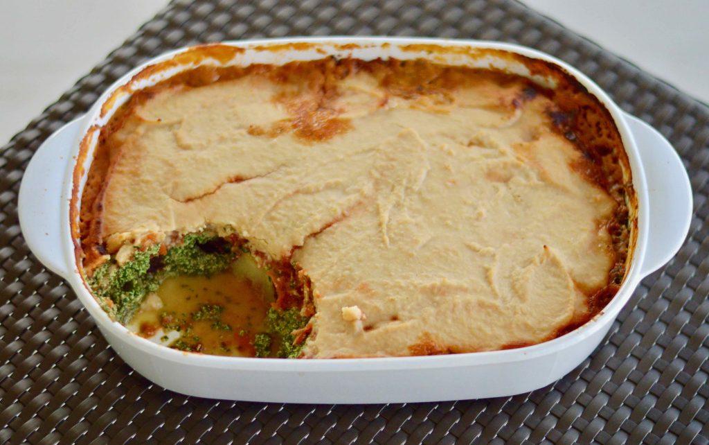 Sweet Potato Bake Recipe and Finished Dish
