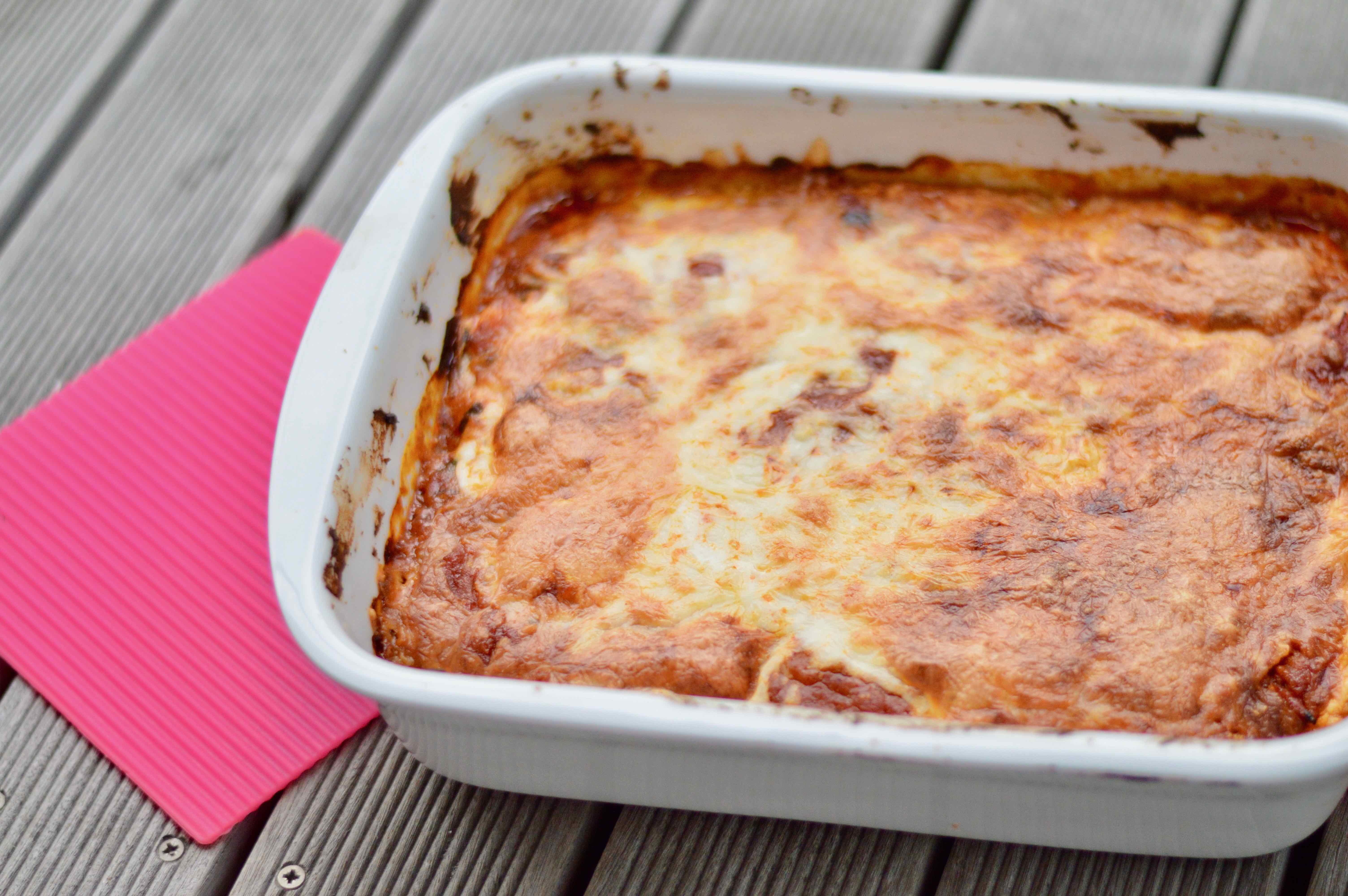 Aubergine Eggplant Bake
